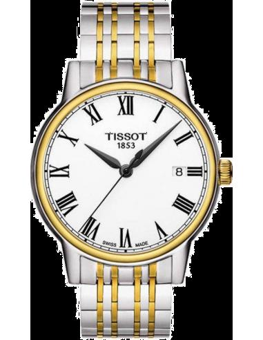 Chic Time | Montre Homme Tissot Carson T0854102201300 - Bracelet Acier Inoxydable  | Prix : 350,00€