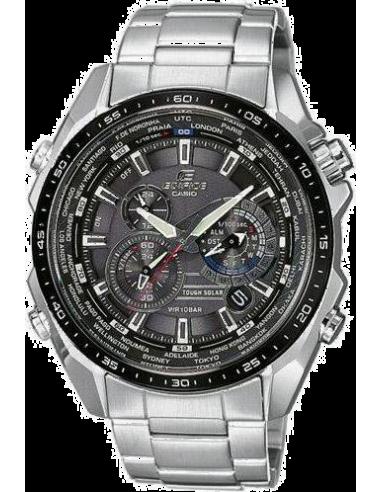 Chic Time | Montre Homme Casio Edifice EQS-500DB-1A1ER Argent  | Prix : 138,00€