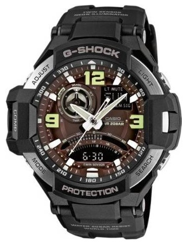 Chic Time   Montre Homme Casio G-Shock GA-1000-1BER Noir    Prix : 261,75€