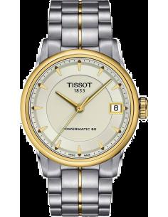 Chic Time | Montre Femme Tissot Luxury Automatic T0862072226100 Argent  | Prix : 809,00€