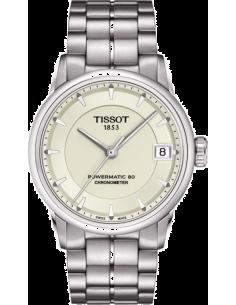 Chic Time | Montre Femme Tissot Luxury Automatic Cosc T0862081126100  | Prix : 990,00€