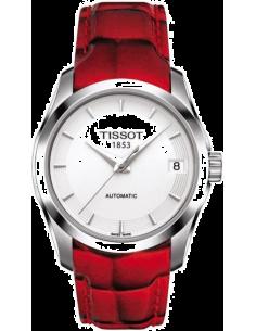 Chic Time | Montre Femme Tissot Couturier T0352071601101 Rouge  | Prix : 490,50€