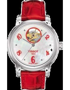 Chic Time | Montre Femme Tissot Lady Heart Automatic T0502071611603 Rouge  | Prix : 665,00€