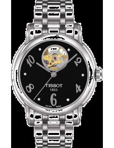 Chic Time | Montre Femme Tissot Lady Heart Automatic T0502071105700 Argent  | Prix : 665,00€