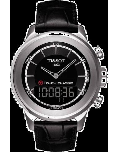 Chic Time | Montre Homme Tissot T0834201605100 T-Touch Classic Noire  | Prix : 565,00€