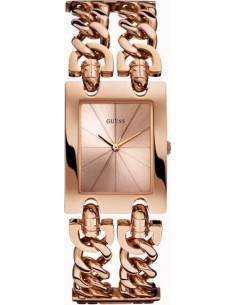 Chic Time | Montre Femme Guess Heavy Metal W0073L2 Or Rose  | Prix : 349,00 €
