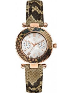 Chic Time | Montre Femme Guess Collection Diver Chic X35006L1S Bracelet serpent  | Prix : 454,30 €