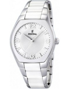 Chic Time | Montre Homme Festina Ceramic F16532/1 Bracelet blanc  | Prix : 149,00€
