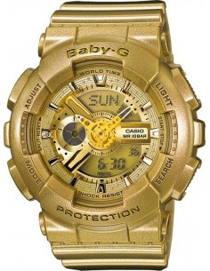 Chic Time | Montre Casio Baby-G BA-111-9AER Or  | Prix : 59,50 €