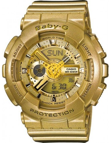 Chic Time | Montre Casio Baby-G BA-111-9AER Or  | Prix : 119,00€