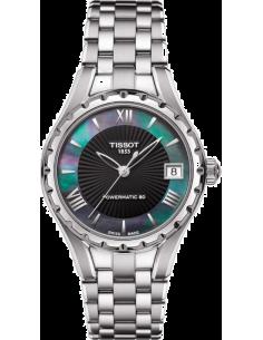 Chic Time | Montre Femme Tissot LADY T072 T0722071112800 Bracelet en acier inoxydable et cadran nacré  | Prix : 588,00€