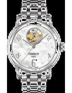 Chic Time | Montre Femme Tissot Lady Heart Automatic T0502071111600 Argent  | Prix : 1,049.99
