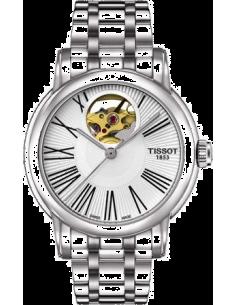 Chic Time | Montre Femme Tissot Lady Heart Automatic T0502071103300 Argent  | Prix : 665,00€