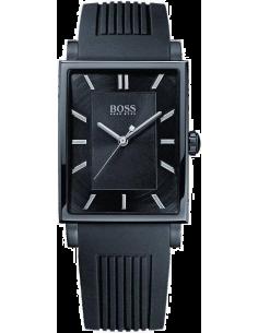 Chic Time | Montre Homme Hugo Boss Modern 1512953 Bracelet noir en silicone  | Prix : 254,15€