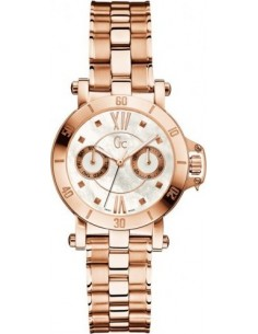 Chic Time | Montre Femme Guess Collection GC Femme Precious X74008L1S Bracelet en acier inoxydable or rose  | Prix : 454,30 €