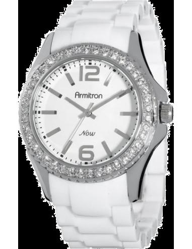 Chic Time   Montre Femme Armitron 753935WTWT NOW Swarovski Crystal    Prix : 74,90€