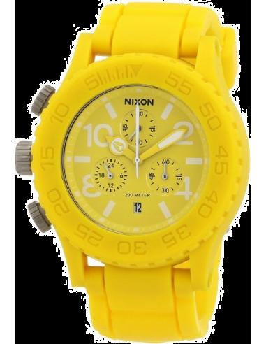 Chic Time | Montre Mixte Nixon 42-20 A309250-00 Chrono Jaune  | Prix : 459,90€