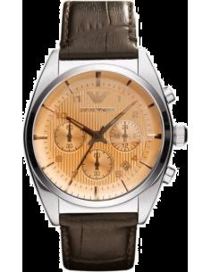 Chic Time | Montre Homme Armani New Retro AR0395 Marron  | Prix : 299,00€