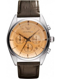 Chic Time | Montre Homme Armani New Retro AR0395 Marron  | Prix : 299,00 €