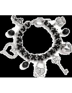 Chic Time | Bracelet Guess Breloques Argenté  | Prix : 32,45€
