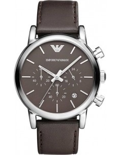 Chic Time | Montre Homme Armani Classic AR1734 Marron  | Prix : 139,00€