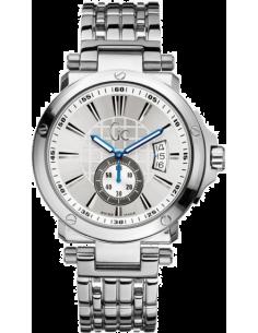 Chic Time | Montre Homme GC Guess Collection Sport Chic X65001G1S Bracelet en acier et cadran argenté  | Prix : 779,00€