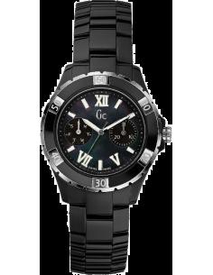 Chic Time | Montre Femme GC Guess Collection Sport Class XL-S Glam X69002L2S Bracelet noir en céramique  | Prix : 480,00€