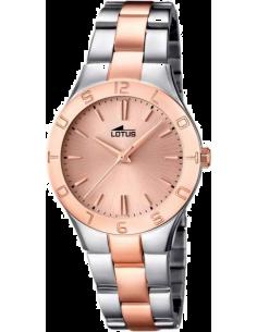 Chic Time | Montre Femme Lotus Trendy L15896/2 bracelet en acier bicolore  | Prix : 99,00€