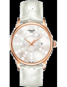 Chic Time | Montre Femme Tissot T-Gold Rose Dream T9142107611601 Cadran orné de diamants  | Prix : 2,079.60