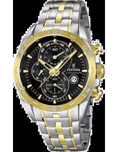 Chic Time   Montre Homme Festina Sport F16655 5 Bracelet bicolore et cadran  noir   ee226803d01e