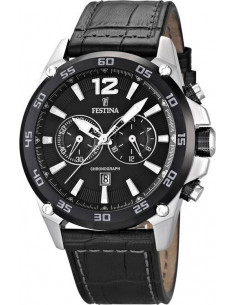 Chic Time   Montre Homme Festina Sport F16673 4 Bracelet et cadran noirs    Prix 054a6480af6f