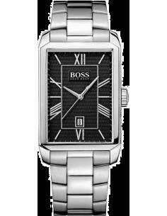 Chic Time | Montre Homme Hugo Boss Classic 1512970 Rectangulaire en acier  | Prix : 223,00€