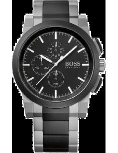 Chic Time | Montre Homme Hugo Boss Sport 1512958 Bracelet gris et noir en acier  | Prix : 339,15€