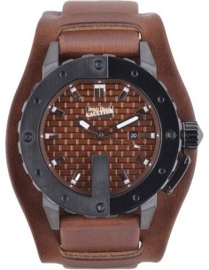 Chic Time   Montre Homme Jean Paul Gaultier 8500102 Marron    Prix : 199,00€