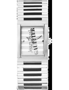 Chic Time   Montre Femme Jean Paul Gaultier 8500805 Bracelet en acier et cadran rayé    Prix : 139,00€