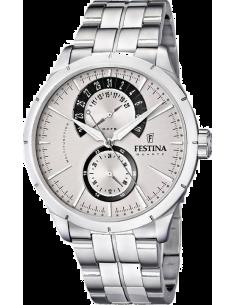 Chic Time | Montre Homme Festina Elegance F16632/1 Bracelet en acier argenté  | Prix : 129,00€