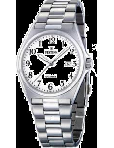 Chic Time | Montre Homme Festina Classic F16374/1 à cadran blanc  | Prix : 79,00€