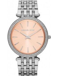 Chic Time | Montre Femme Michael Kors Darci MK3218 Bracelet en acier argenté et strass  | Prix : 211,65€