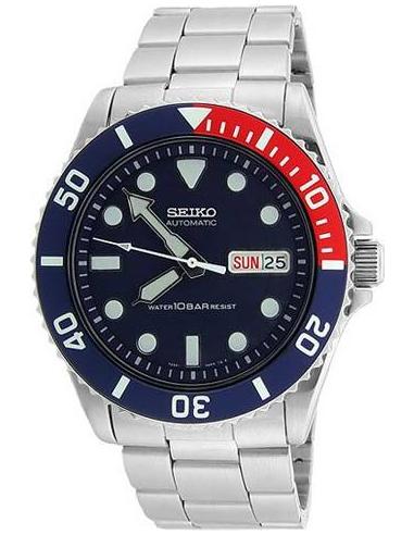 Chic Time | Montre de plongée Seiko Diver's SKX033K2  | Prix : 154,90€