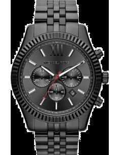 Chic Time | Montre Homme Michael Kors Lexington MK8320 Bracelet en acier et cadran noirs  | Prix : 169,00€