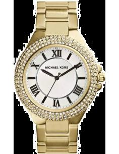 Chic Time | Montre Femme Michael Kors Camille MK3277 Bracelet en acier doré et lunette en strass  | Prix : 199,20€