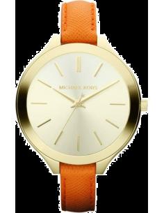Chic Time | Montre Femme Michael Kors MK2275 Bracelet fin en cuir orange  | Prix : 169,15€