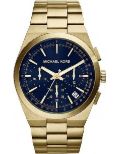 Chic Time | Montre Homme Michael Kors Channing MK8338 Bracelet en acier doré  | Prix : 223,20€