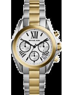 Chic Time | Montre Femme Michael Kors Bradshaw MK5912 Bracelet en acier argenté et doré  | Prix : 203,15€