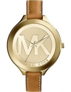 Chic Time | Montre Femme Michael Kors Slim Runway MK2326 Bracelet en cuir brun  | Prix : 199,00€