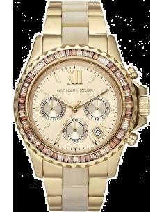 Chic Time | Montre Femme Michael Kors Bradshaw MK5874 Bracelet en acier doré et acétate  | Prix : 279,65€
