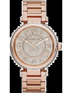 Chic Time | Montre Femme Michael Kors Skylar MK5868 Bracelet en acier doré rose  | Prix : 296,65€