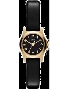 Chic Time | Montre Femme Marc By Marc Jacobs Henry MBM1240 Cuir noir  | Prix : 127,20€