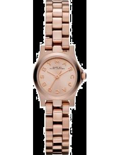 Chic Time | Montre Femme Marc By Marc Jacobs Henry Dinky MBM3200 Bracelet fin doré rose en acier   | Prix : 159,20€