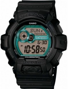 Chic Time | Montre Homme Casio G-Shock GLS-8900-1ER Finitions vertes  | Prix : 99,00 €